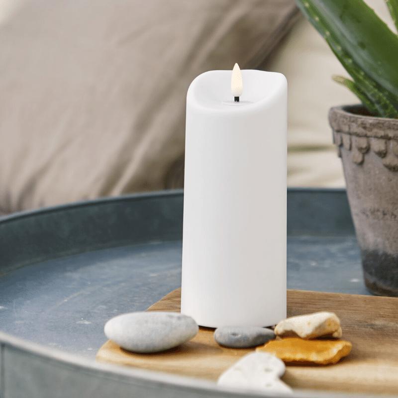 Dosen und Votive. wasserfest Warnaufkleber f/ür Kerzen 3,8 cm Aufkleber f/ür Kerzen Sicherheitsetiketten 500 St/ück pro Rolle