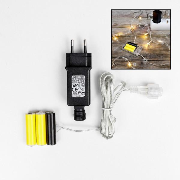 Netzadapter für Batterieartikel (3xAA oder 3x AAA) - Batterie Eliminator - Innen
