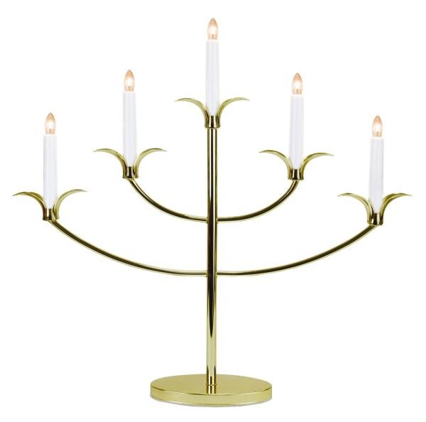 "Fensterleuchter ""Tilpi"", 5flammig - bronze - warmweiße Glühlampen - inkl. Trafo"