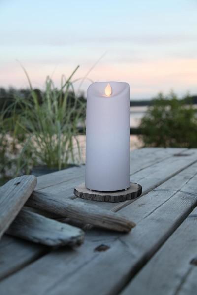 LED-Kerze | Twinkle | mechanisch bewegte Flamme | ↑ 17,5 cm