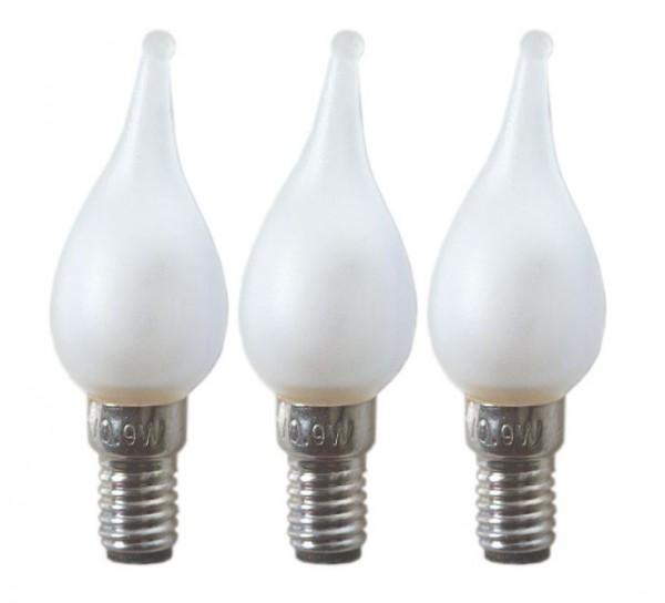 Ersatz-Leuchtmittel - E6 - 12V - 0,9W - 3 Stück