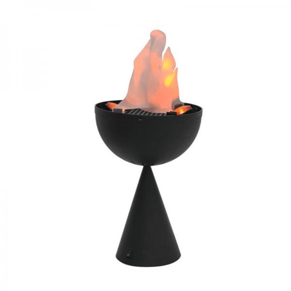 Flamelight LED - Flammeneffekt mit flatterndem Tuch und LED Beleuchtung (28,5cm hoch)